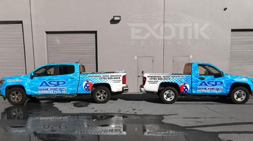 Asp two trucks